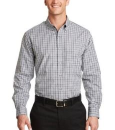 Port Authority S654    Long Sleeve Gingham Easy Care Shirt