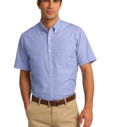 Port Authority S656    Short Sleeve Crosshatch Easy Care Shirt