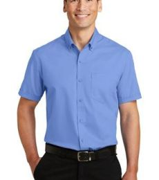 Port Authority S664    Short Sleeve SuperPro   Twill Shirt