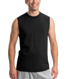 JERZEES HiDensi T 153 100 Cotton Sleeveless T Shirt 49M