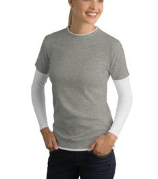 Sport Tek Ladies Long Sleeve Double Layer T Shirt LST306