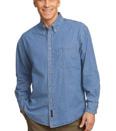 Port  Company Long Sleeve Value Denim Shirt SP10
