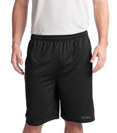 Sport Tek PosiCharge Tough Mesh153 Pocket Short ST312