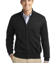 SW303 Port Authority® Value Full-Zip Mock Neck Sweater