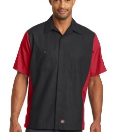 382 SY20 Red Kap Short Sleeve Ripstop Crew Shirt