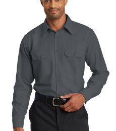 382 SY50 Red Kap Long Sleeve Solid Ripstop Shirt