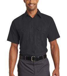 382 SY60 Red Kap Short Sleeve Solid Ripstop Shirt