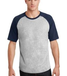 Sport Tek T201 Sport-Tek Short Sleeve Colorblock Raglan Jersey