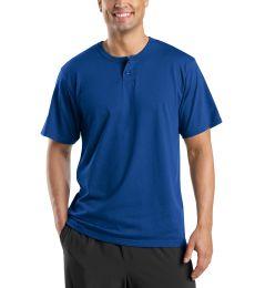 Sport Tek Short Sleeve Henley T210