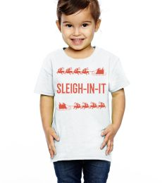 Sleigh-In-It Toddler Printed Holiday Tee