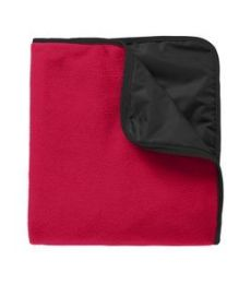 Port Authority TB850    Fleece & Poly Travel Blanket