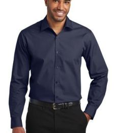 Port Authority Clothing W103 Port Authority  Slim Fit Carefree Poplin Shirt