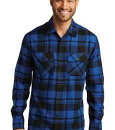 242 W668 Port Authority Plaid Flannel Shirt