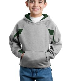 Sport Tek Youth Color Spliced Pullover Hooded Sweatshirt Y266