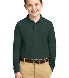 Port Authority Youth Long Sleeve Silk Touch153 Polo Y500LS