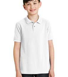 Port Authority Youth Silk Touch153 Polo Y500