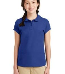 Port Authority YG503    Girls Silk Touch   Peter Pan Collar Polo