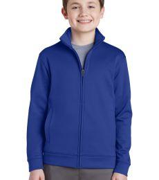Sport Tek YST241 Sport-Tek Youth Sport-Wick Fleece Full-Zip Jacket