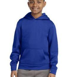 Sport Tek YST244 Sport-Tek Youth Sport-Wick Fleece Hooded Pullover