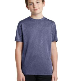 Sport Tek YST360 Sport-Tek Youth Heather Contender Tee
