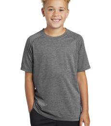 Sport Tek YST400 Sport-Tek  Youth PosiCharge  Tri-Blend Wicking Raglan Tee