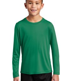 Sport Tek YST420LS Sport-Tek  Youth Posi-UV Pro Long Sleeve Tee