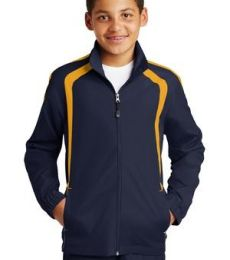 Sport Tek Youth Colorblock Raglan Jacket YST60
