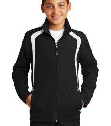 Sport Tek Youth Colorblock Raglan Jacket YST60