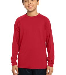 Sport Tek Youth Long Sleeve Ultimate Performance Crew YST700LS
