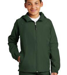 Sport Tek Youth Hooded Raglan Jacket YST73