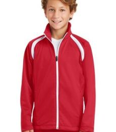 Sport Tek Youth Tricot Track Jacket YST90