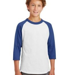 Sport Tek Youth Colorblock Raglan Jersey YT200