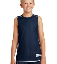 Sport Tek Youth PosiCharge Mesh153 Reversible Sleeveless Tee YT555