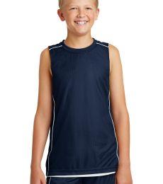 Sport Tek Youth PosiCharge Mesh153 Reversible Sleeveless Tee YT555