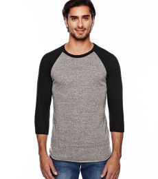 Alternative Apparel AA2089 Mens Baseball Tee