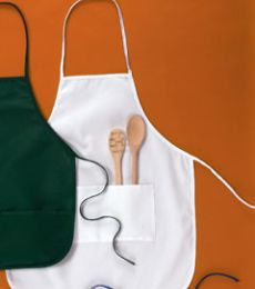 "APR52 Big Accessories Two-Pocket 28"" Apron"