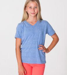 TR256 American Apparel Youth Tri-Blend V-Neck T-Shirt