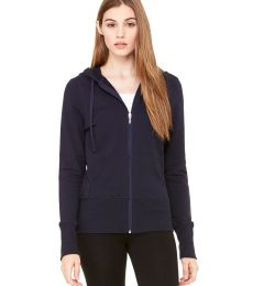 BELLA 7207 Ladies French Terry Zip-up Jacket
