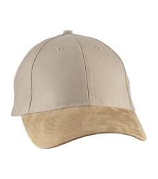 Big Accessories BA555 Suede Bill Cap