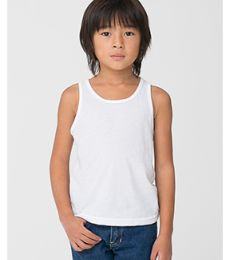 American Apparel BB108W Toddler Poly-Cotton Tank