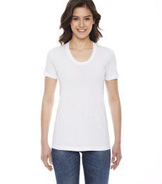 BB301W Ladies' Poly-Cotton Short-Sleeve Crewneck