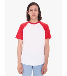 RSABB4237W Unisex Poly-Cotton Raglan T-Shirt