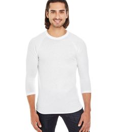 BB453W 50/50 Three-Quarter Sleeve Raglan T-shirt