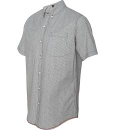 B9259 Burnside - Stretch-Stripe Short Sleeve Shirt