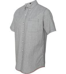 B9259 Burnside - Stretch-Stripe Short Sleeve Shirt