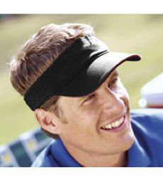 BT3V Big Accessories Washed Twill Sandwich Visor