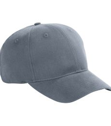BX002 Big Accessories 6-Panel Brushed Twill Structured Cap