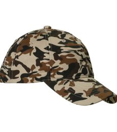 BX018 Big Accessories Unstructured Camo Hat