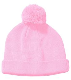 BX028 Big Accessories Knit Pom Beanie