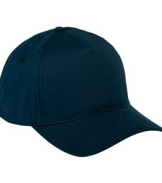 BX034 Big Accessories 5-Panel Brushed Twill Cap